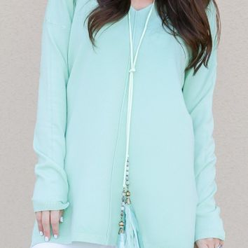 All The Ways Necklace in Mint | Monday Dress Boutique