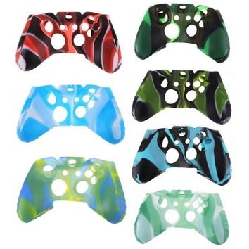ALLOYSEED Protective Gamepad Cover Case Soft Silicone Case Cover for Xbox One for Xbox One Slim Game Controller
