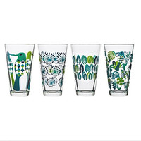 Fantasy Tumbler Glassware Designed by Hanna Werning - Set of 4 Glasses