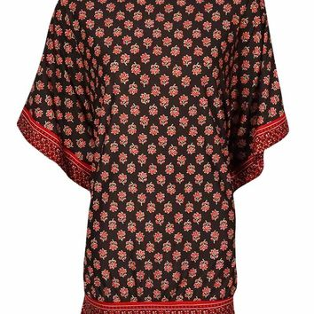 MICHAEL Michael Kors Women's Dolman Printed Dress Swim Cover