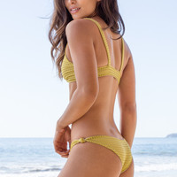 ACACIA SWIMWEAR - Cusco Mesh Bottom | Pineapple
