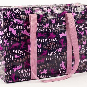 Cats Cats Cats!!!! Shopper Shoulder Tote Bag