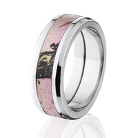 Pink Breakup Mossy Oak, Mossy Oak Camo Rings, Camouflage Wedding Bands