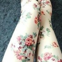 Rose Leggings from bebpillo
