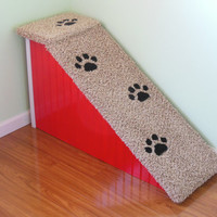 Dog Ramps, FREE SHIPPING. Christmas in July.  All Wood and Screw Construction, Pet Ramp, Doxie Ramp, Perfect for High Beds, Made in the USA