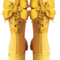 Yellow Timber & Tamber French Bow Boot