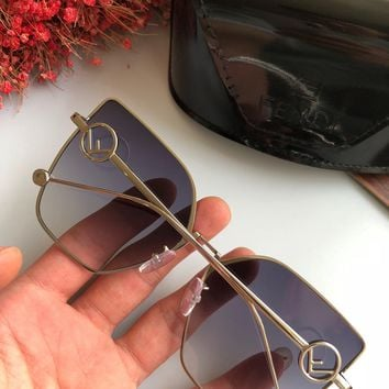 Fendi Women Men Fashion Shades Eyeglasses Glasses Sunglasses
