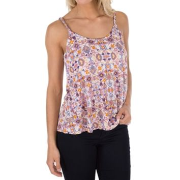 Pink Rose Juniors Tank with Braided Straps at Von Maur