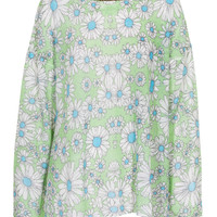 WILDFOX Neo Daisy Mint Julep Gemusterter Strickpullover - What's new