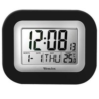Lcd Wall Alarm Clock