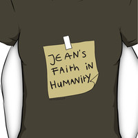 Jean's Faith in Humanity Women's T-Shirt