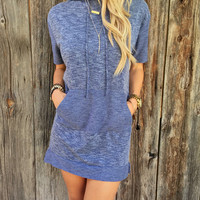 Womens Summer Navy Dress Gift 38
