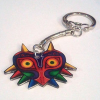 Majora's Mask Keychain by LilithRuby on Etsy