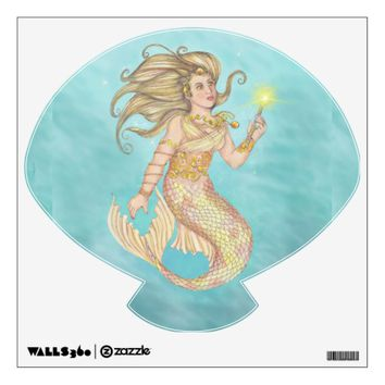 Mermaid Sea Queen Fia Fantasy Wall Sticker