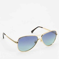 Wildfox Couture Airfox Sunglasses- Gold One