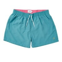 Farah Vintage Swim Shorts in Green - Swimming Trunks - Clothing | Shop for Men's clothing | The Idle Man