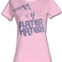 Saved By The Bell Slater Hater Juniors T-Shirt