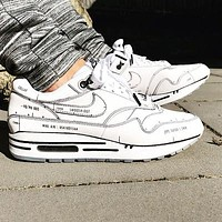 Nike Air Max 1 Tinker Unisex Air Cushion Sneakers Shoes
