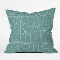 Mareike Boehmer My Favorite Pattern 10X Throw Pillow