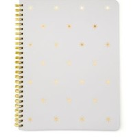 enabled: truelabel: sugar paper-Polka Dot Spiral-Bound Notebook