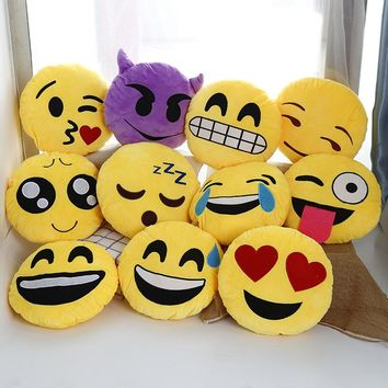 Emoji  Pillow  Smiley  Emotion  Cushion  Decorative