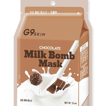 G9 Skin Chocolate Milk Bomb Mask