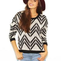 West Coast Wardrobe  Style Stalker Sweater in Black
