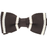 Tok Tok Designs Pre-Tied Bow Tie for Men & Teenagers (B268, Knitted)