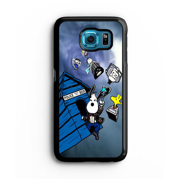 snoopy doctor who Samsung S6 s5 s4 S3 Case, Note 3 4 5 Case, iPhone 6s 5s 5c 4s Cases, iPod case, HTC case, Xperia Z3 case, LG G3 Nexus case, iPad cases