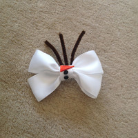 Disney's Frozen Inspired Hair bow- Olaf