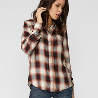 Baroque Ombre Plaid Western Shirt
