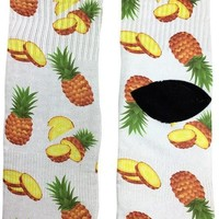 Pineapple Food Socks
