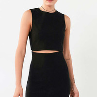 Lucca Couture Twill Slash-Waist Mini Dress | Urban Outfitters