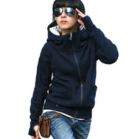 Hot Sale New cheap women Long sleeve hoodie cardigans coat women's hoodie sports wear Track sweatshirt = 1920306180