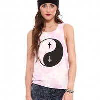 Psychedelic Ying Yang Muscle Tank - Clothes | GYPSY WARRIOR