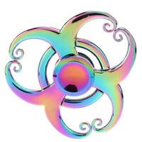 Rainbow Fidget Spinner- Swirls