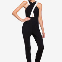 Cross Cut Jumpsuit