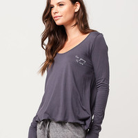 FULL TILT Too Young To Care Womens Tee | Raglans & L/S Tees