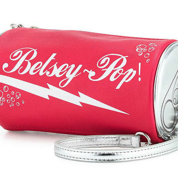 Betsey Johnson Kitsch Soda Crossbody Bag