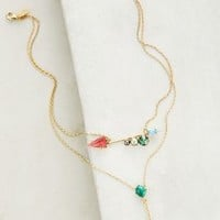 Juno Layered Necklace by Elizabeth Cole Gold One Size Necklaces