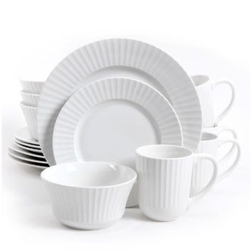 Gibson Home Excella 16 Piece Dinnerware Set