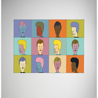 Beavis & Butthead Warhol Fleece Blanket