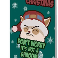 Merry Christmas League Of Legends Teemo by Nundei