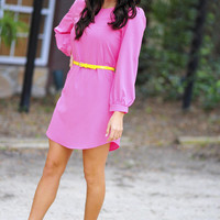 Where Have You Been All My Life Tunic: Pink | Hope's