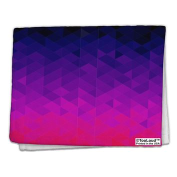 "Geometric Gradient AOP 11""x18"" Dish Fingertip Towel All Over Print by TooLoud"
