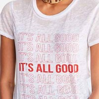 Project Social T It's All Good Tee - Urban Outfitters