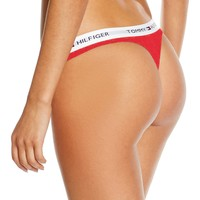 """Tommy Hilfiger"" Women's Cotton Thong"
