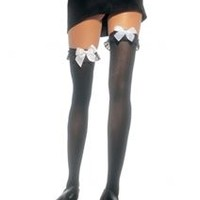 Thigh High Stockings with Ruffle