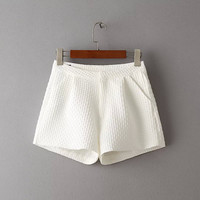 Summer High Rise Slim Casual Korean Pants Shorts [6034466433]