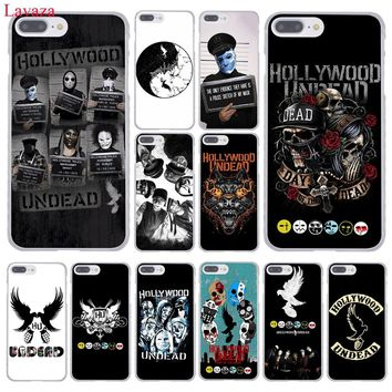 Lavaza hollywood undead Hard Coque Shell Phone Case for Apple iPhone 8 7 6 6S Plus X 10 5 5S SE 5C 4 4S Cover